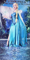 Elsa Cosplay Queen of Ice and Snow