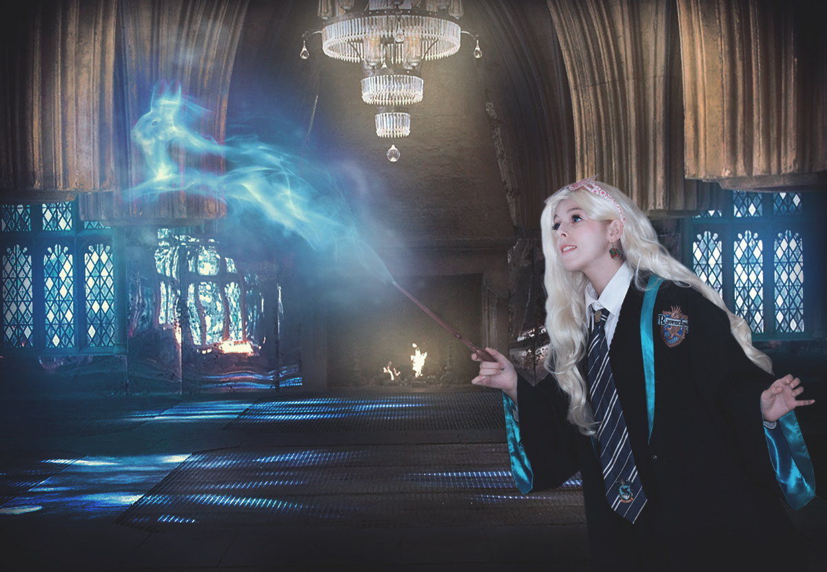 Luna Lovegood patronus cosplay by MissWeirdCat on DeviantArt