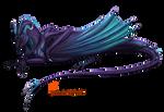 Violet dragon (Patreon reward)