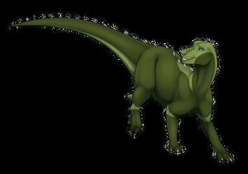 Iguanodon (com) by ElenPanter