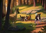 Evening stroll (com) by ElenPanter