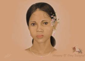 Happy B Day Swyty by mfayaz