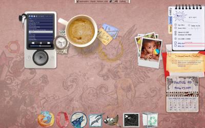 Ubuntu-Desk-Top March 2009 by mfayaz