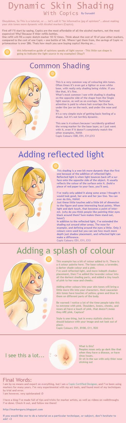 Dynamic Skin  - copics by Marker-Guru