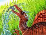 Spinosaurus by Marker-Guru