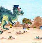 Hello Albertosaurus chapter 3 title page