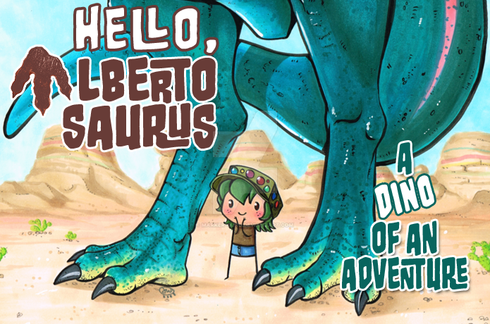 Pre- Order Hello Albertosaurus by Marker-Guru