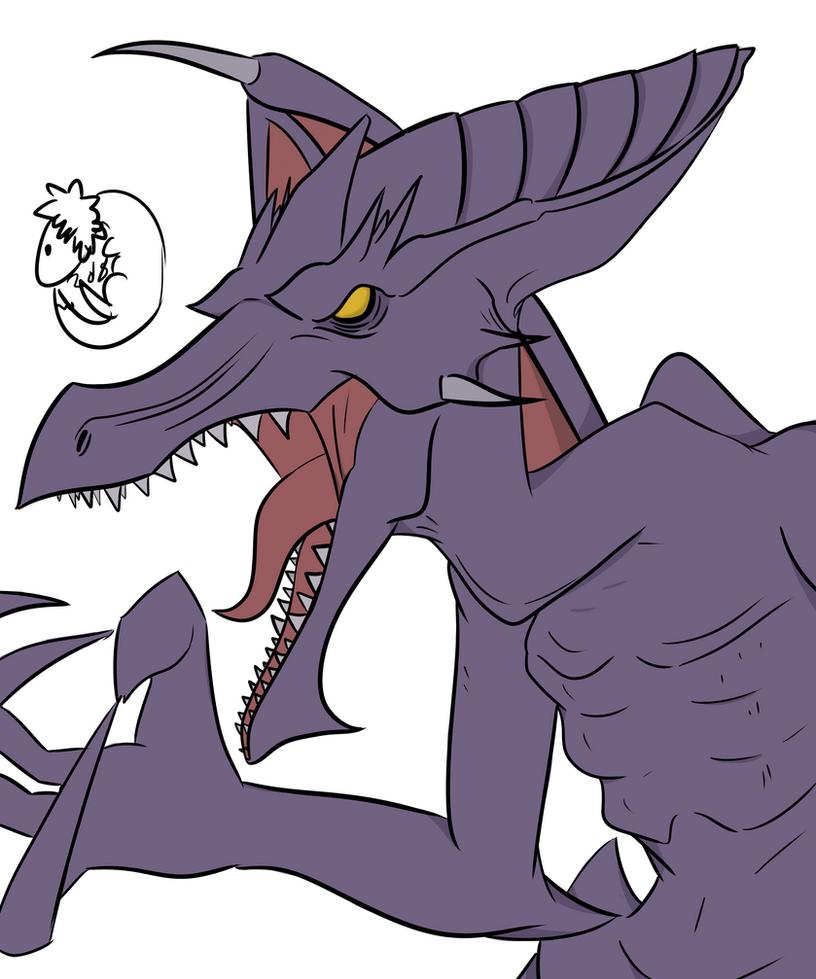 Never Too Big by Extinct-Doodles