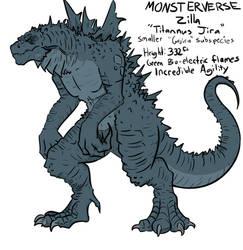 Monsterverse FanDesign: Zilla, Tittanus Jira 'Jira by Extinct-Doodles