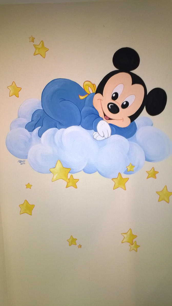 Baby Mickey Mouse by IaneArt