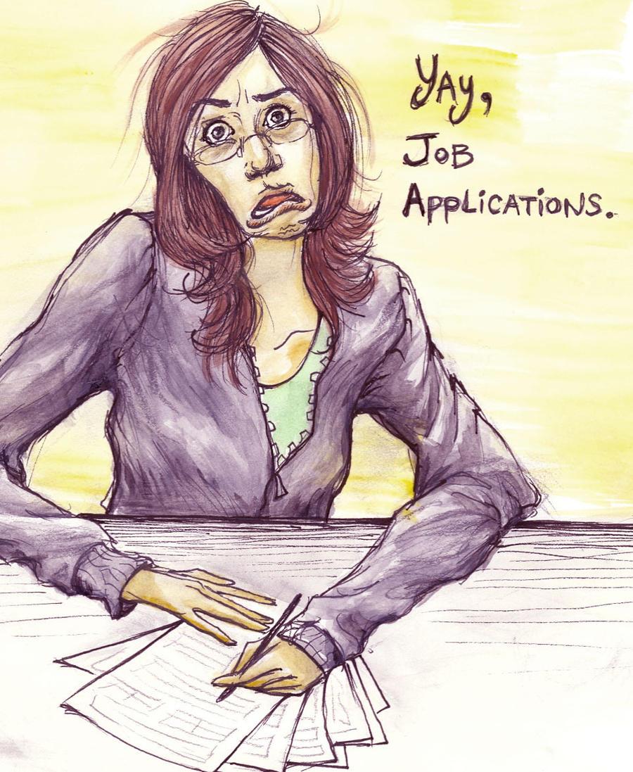 job hunting sucks by mercie on