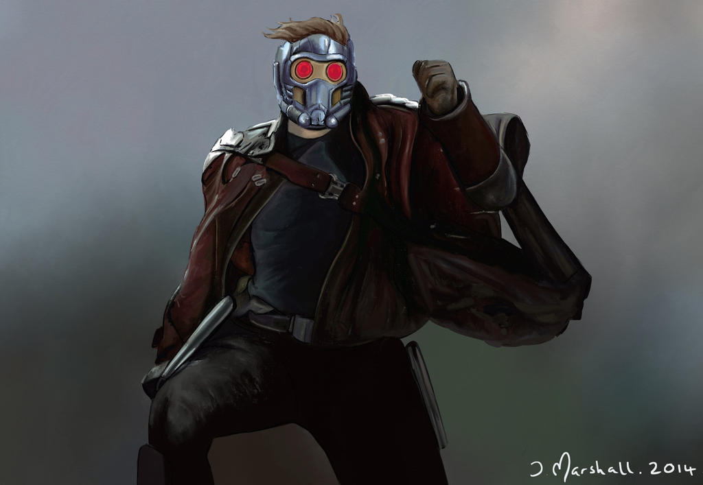 Guardians of the galaxy star lord by soapmak3r on deviantart