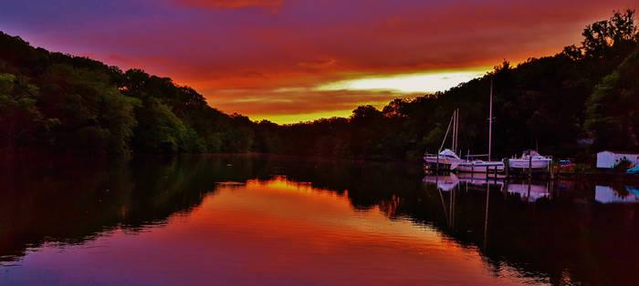 Bodkin Creek Sunset 2016