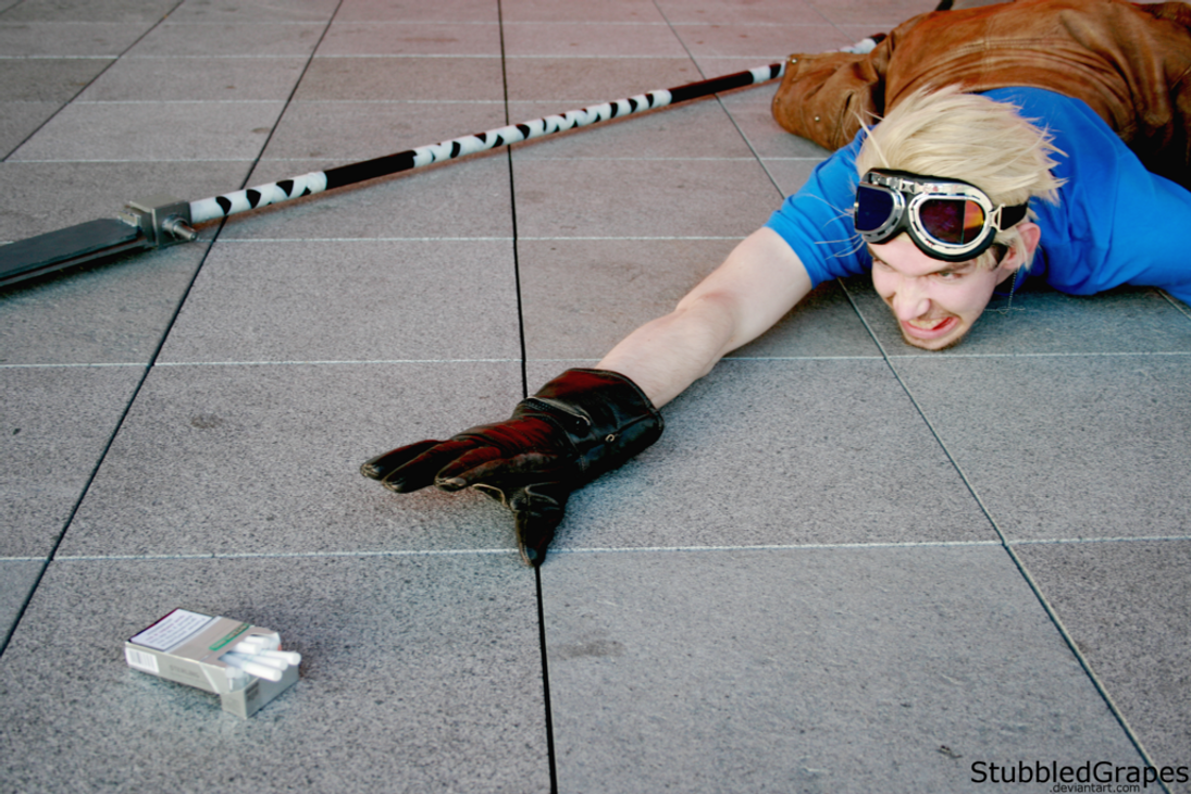 Cosplay: Cid from Final Fantasy VII by StubbledGrapes