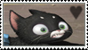 Mittens stamp by Monserawr