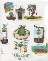 Geb Carnivorous Plants 1 by Tapejara