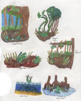 Geb Carnivorous Plants 2 by Tapejara