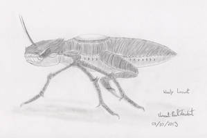 Lyell-3 - Wooly Locust by Tapejara