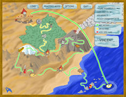 Zoombinis Time Trek - Map