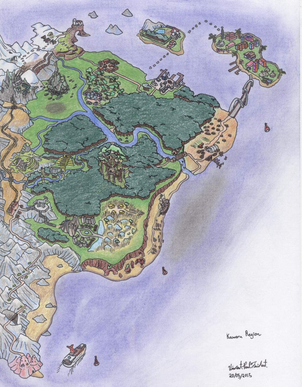 Pokemon Kawaru Region by Tapejara on DeviantArt