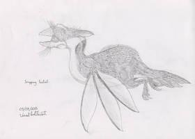 Lyell-3 - Snapping Fantail by Tapejara