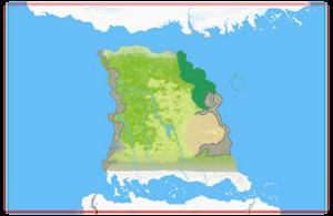 Map of Geb by Tapejara