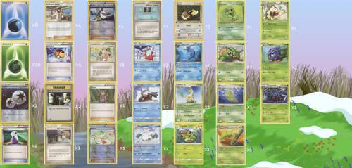 Spring Fever Pokemon Deck 1.0 by Tapejara