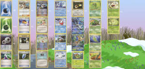 Spring Fever Pokemon Deck 1.1