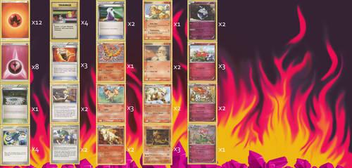 Fire Wall Pokemon Deck 1.0 by Tapejara