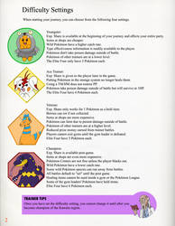Pokemon Order and cHAoS Difficulty Settings