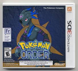 Pokemon Order version Box Art