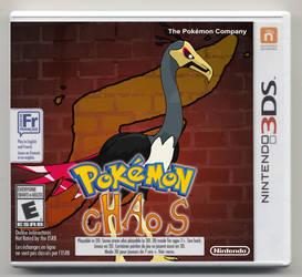 Pokemon cHAoS Version Box Art
