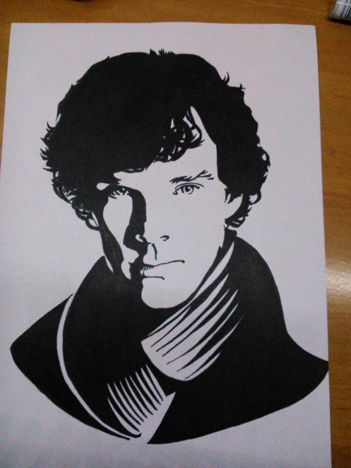 Sherlock Holmes / Benedict Cumberbatch by Szycha22