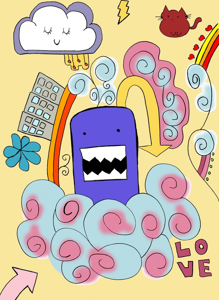 Doodle by anellen