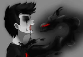 Darkiplier - Dark Fate by Pixie-Edelweiss
