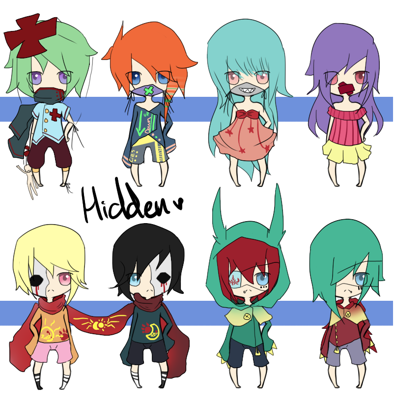 Adoptabuu Hiddens by chuguri
