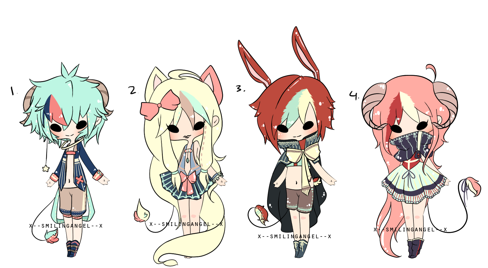 Space Kemonomimis Adopt Mini Auction {C L O S E D} by chuguri