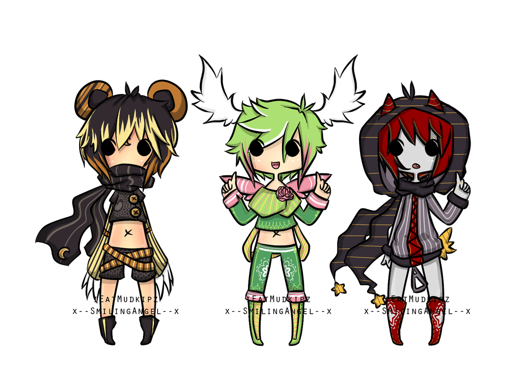 SmilingMudkipz Pokemon Gijinkas Auction {O P E N} by chuguri