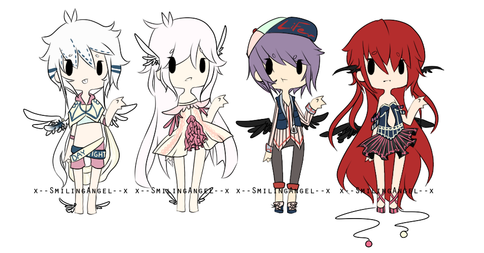 Doves and Crows Adopts {CLOSED} by chuguri