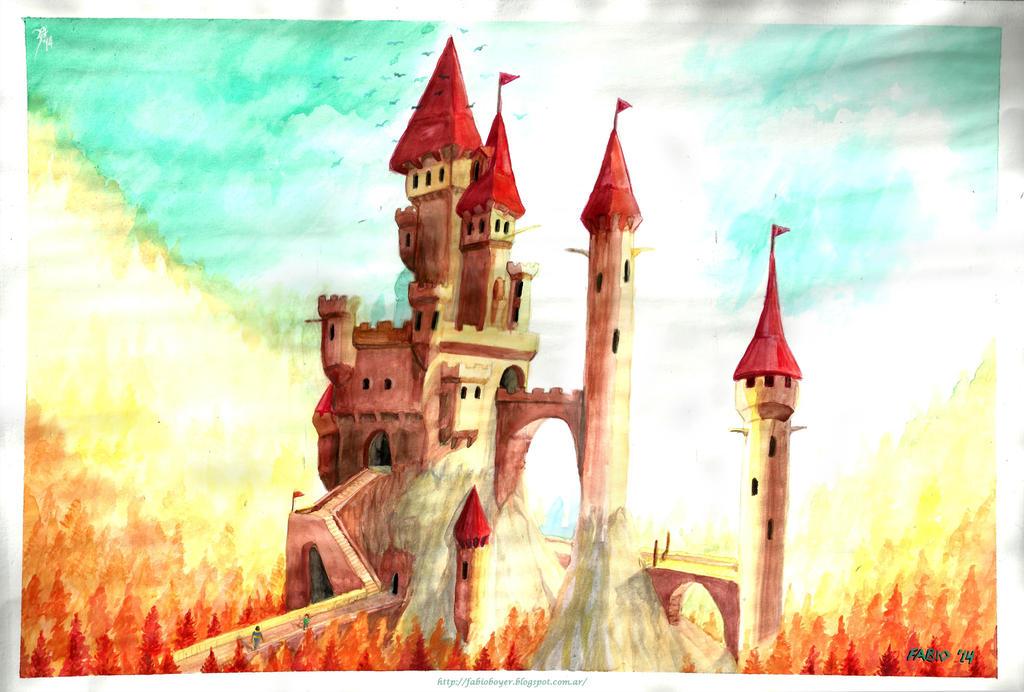 Un castillo para Joa (A castle for Joa) by FAB-dark