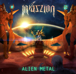(2016) Invaszion - Alien Metal Cover by FAB-dark