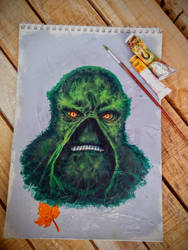 Swamp Thing (La cosa del pantano) by FAB-dark