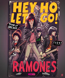 The Ramones by FAB-dark