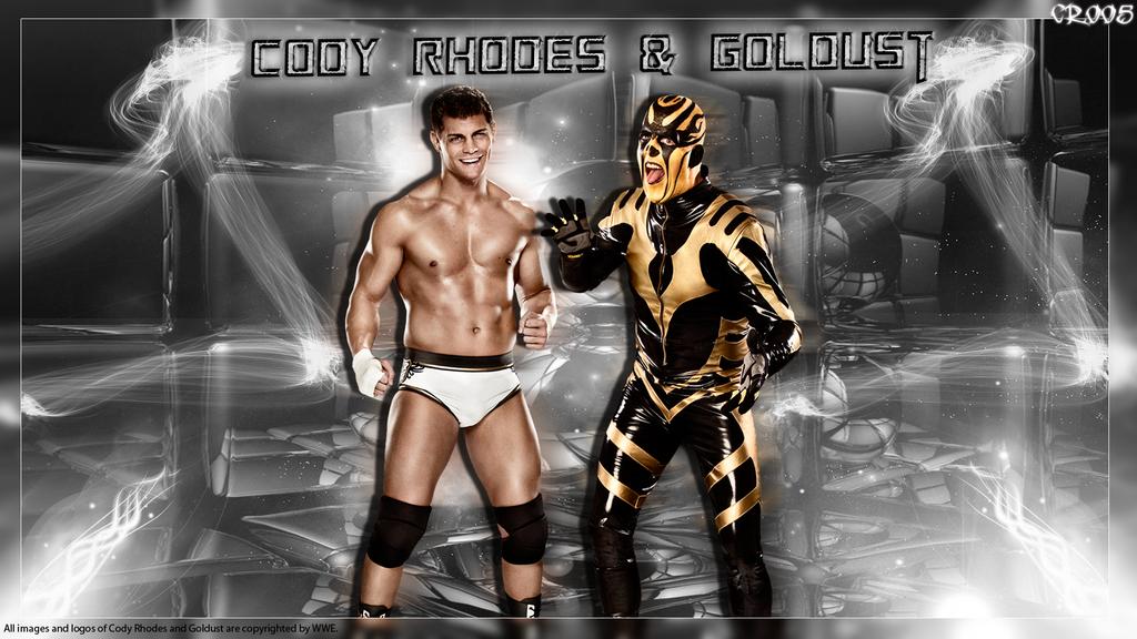 Cody Rhodes and Goldust Wallpaper by ChrisRobert005 on