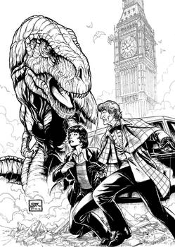 The Third Doctor 2 (2012) Inks