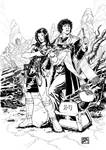 The Fourth Doctor 1 (2013) Inks