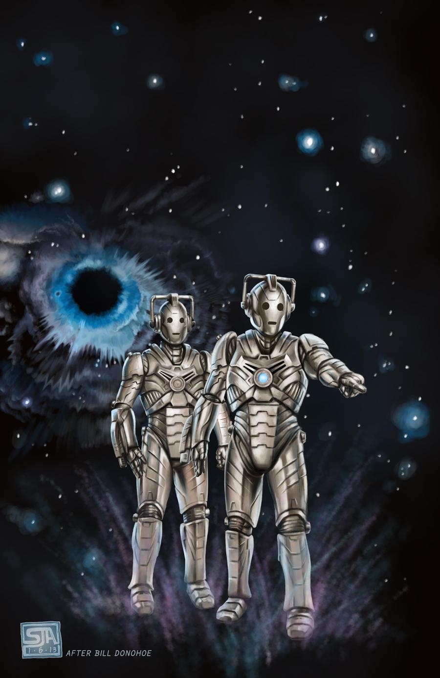 Cybermen 2 (2013) by SteveAndrew