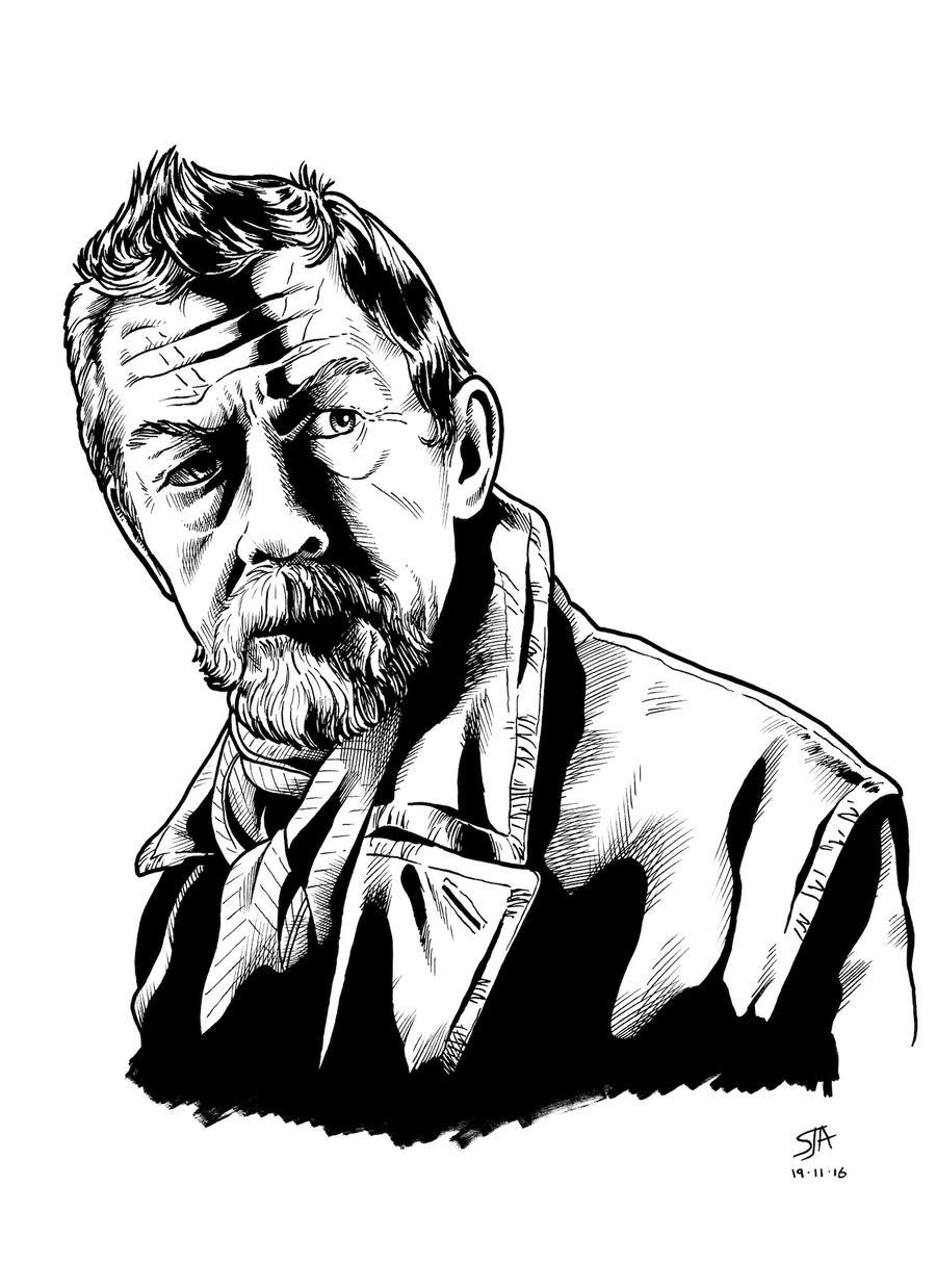 The War Doctor 2 (2016) Inks by SteveAndrew