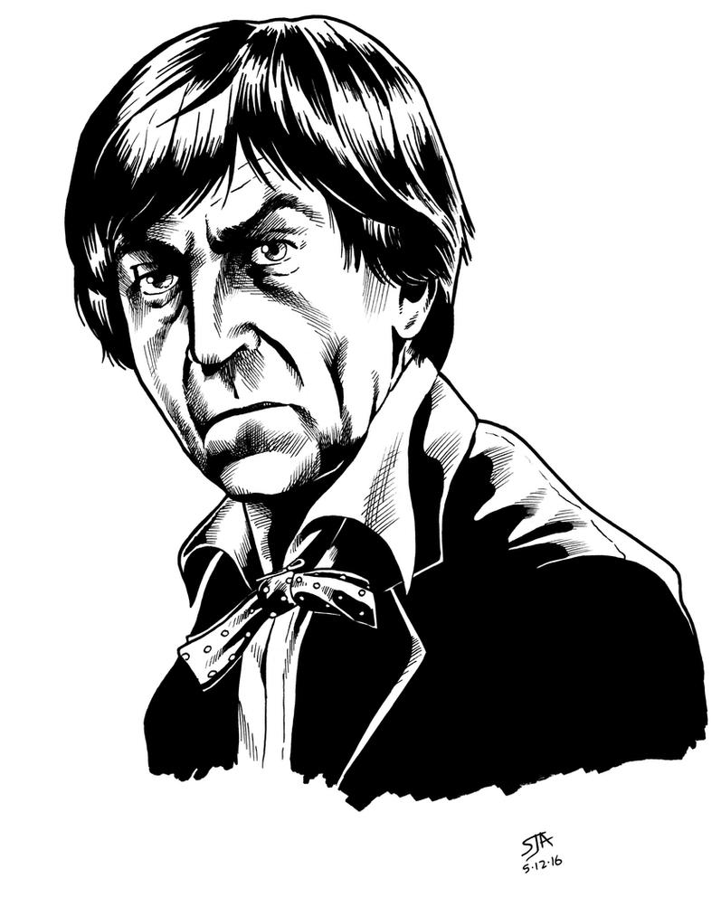 The Second Doctor 2 (2016) Inks by SteveAndrew