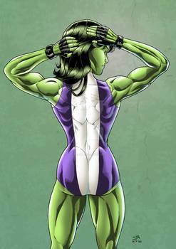 She-Hulk 4 (2020) Colours